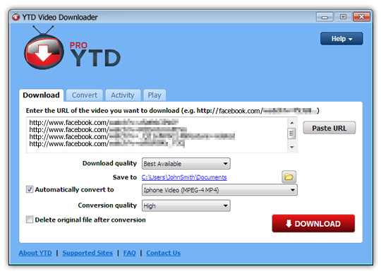 YouTube Downloader Pro YTD 4.8.1.0 Offline Installer Download