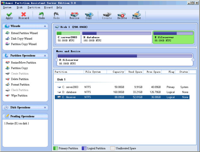 AOMEI Partition Assistant Server Edition 6 Direct Link Download