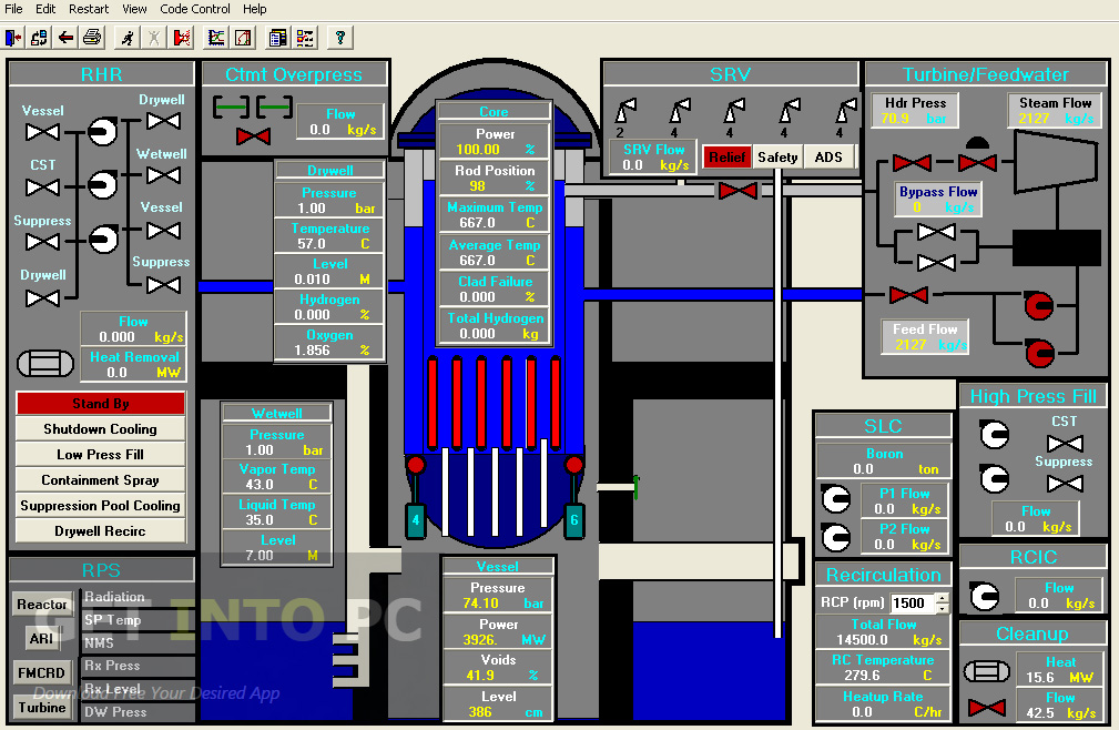 Boiling Water Reactor Nuclear Simulator Offline Installer Download