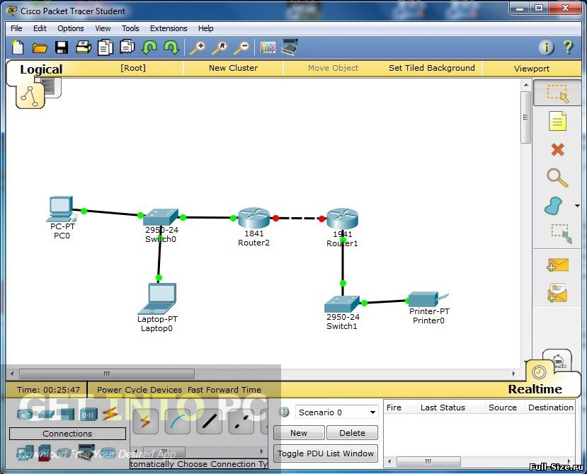 cisco packet tracer 5.3 gratuitement