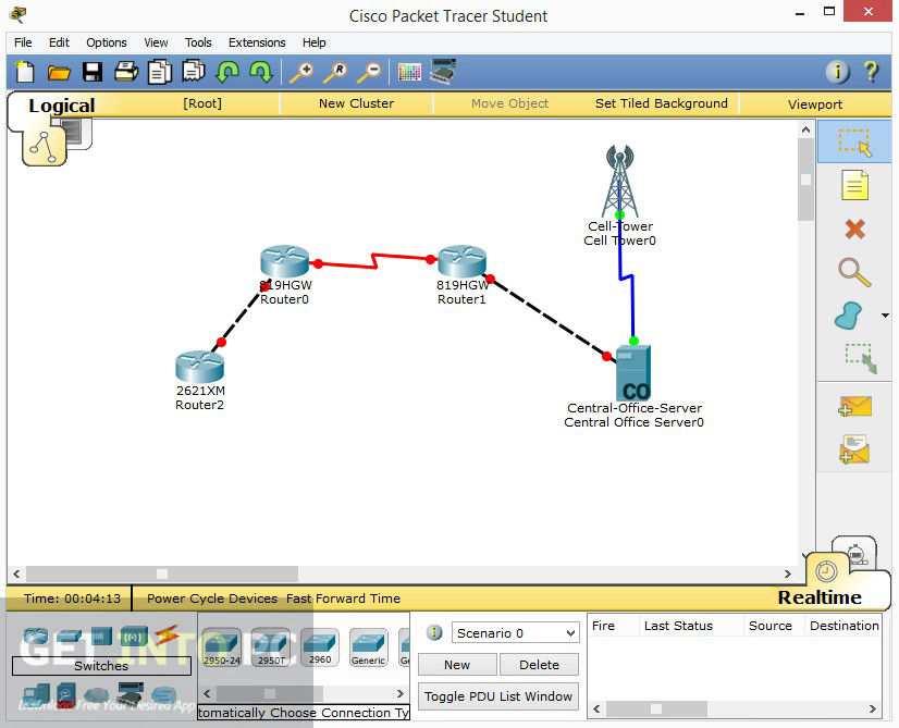 cisco packet tracer download 7.2