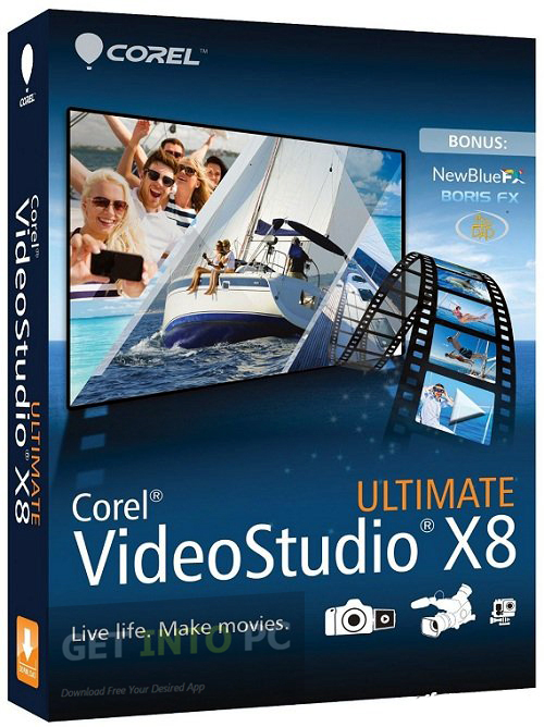 Corel VideoStudio X8 SP1 Multilingual Download Free