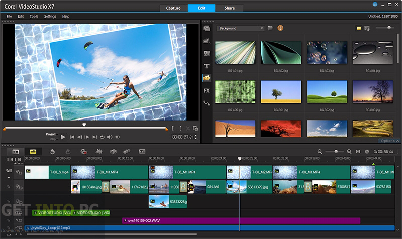 Corel VideoStudio X8 SP1 Multilingual Setup Free Download
