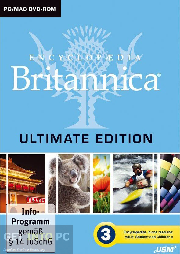 Encyclopaedia Britannica 2015 Ultimate ISO Free Download