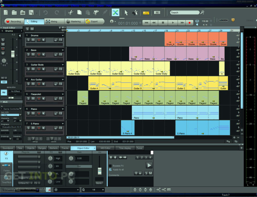 MAGIX Samplitude Music Studio 2014 ISO Direct Link Download