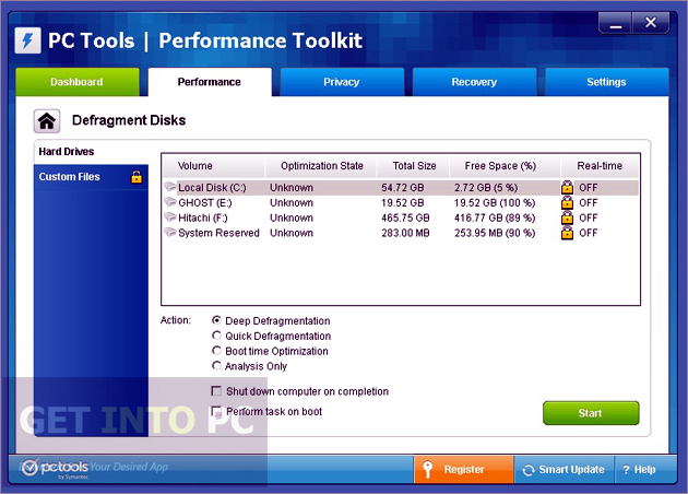 PC Tools Performance Toolkit Direct Link Download