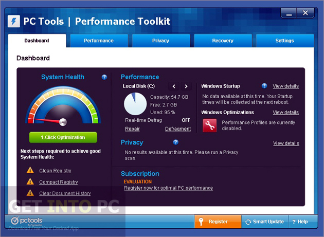 PC Tools Performance Toolkit Latest Version Download