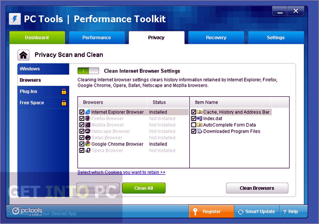 PC Tools Performance Toolkit Offline Installer Download