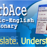 VerbAce Pro English Arabic Dictionary Free Download