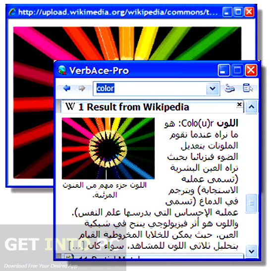 VerAce Pro English Arabic Dictionary Free Download