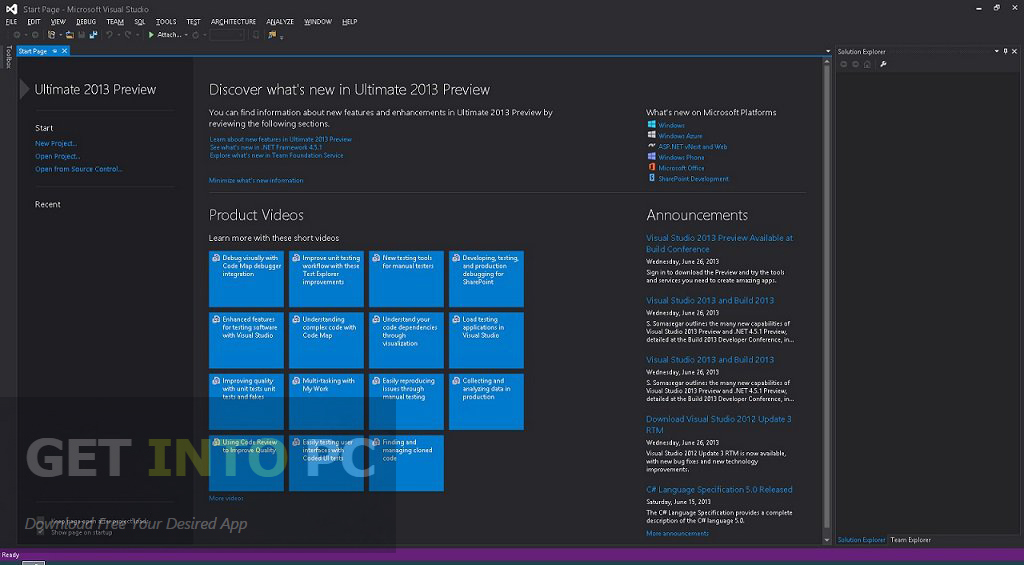 Visual Studio 2015 CTP 5 ISO Download For Free