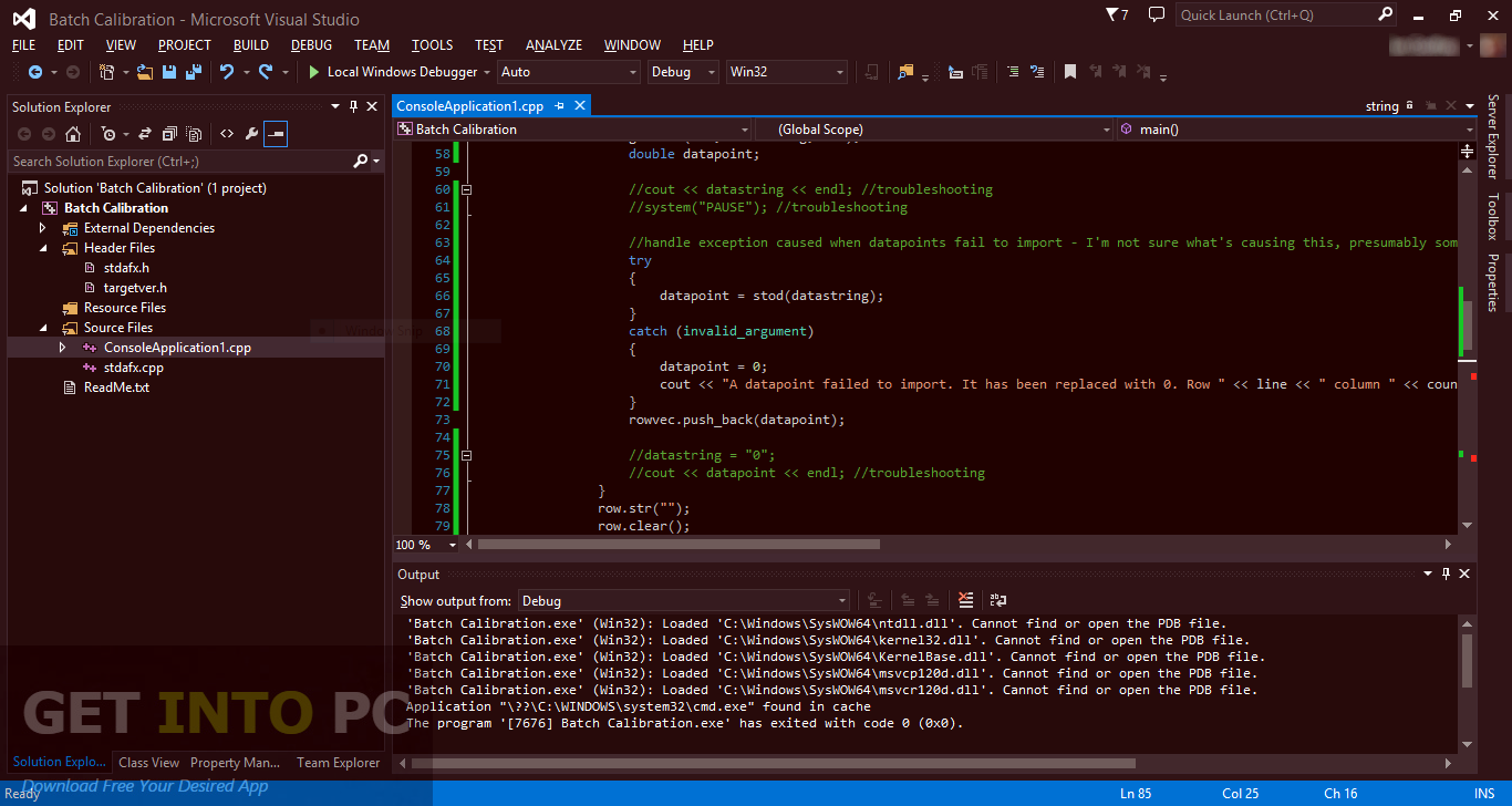 Microsoft visual studio 5 0