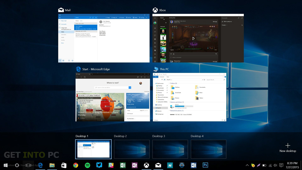 free downlod Windows 10 All in One Multiple Edition Final