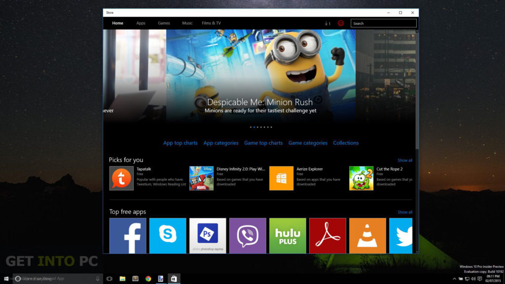 Windows 10 Build 10162 ISO 32 64 Bit Download For Free