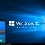 Windows 10 Build 10162 ISO 32 / 64 Bit Free Download