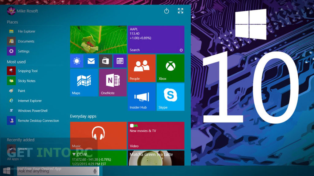 Windows 10 Pro Build 10240 ISO 32 64 Bit Direct Link Download