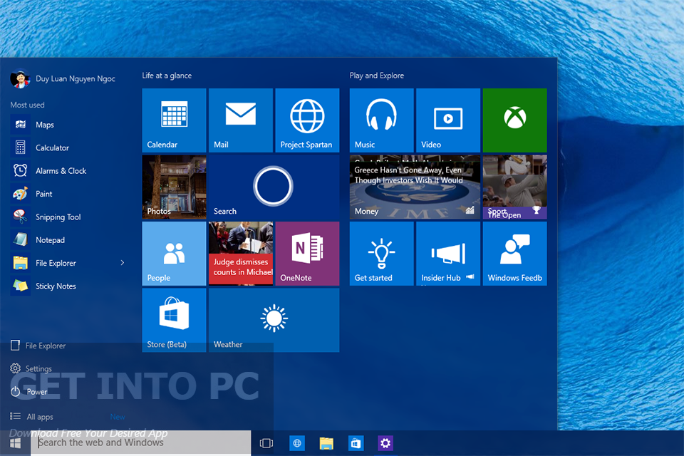 Windows 10 Pro Build 10240 ISO 32 64 Bit Latest Version Download