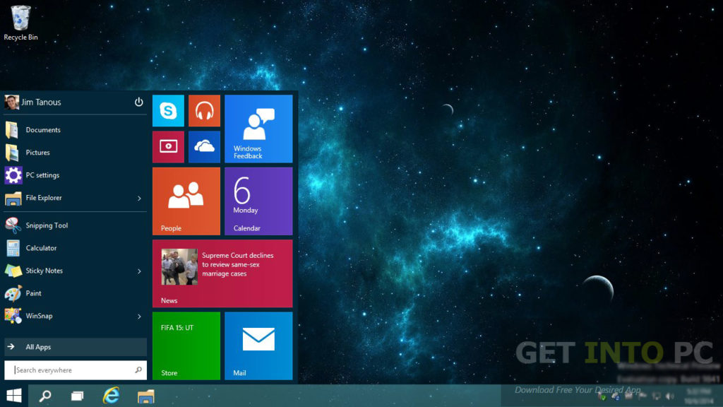 Windows 10 Pro Core ISO 32 64 Bit Download For Free