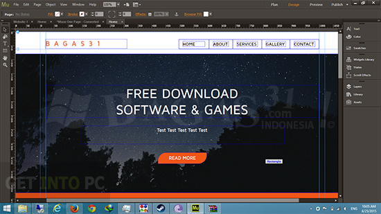 adobe Muse CC 2015 Offline Installer Download