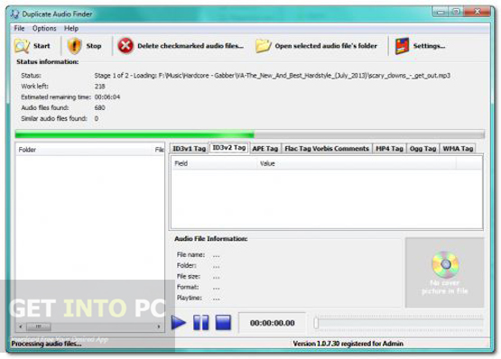 3delite Duplicate Audio Finder Offline Installer Download