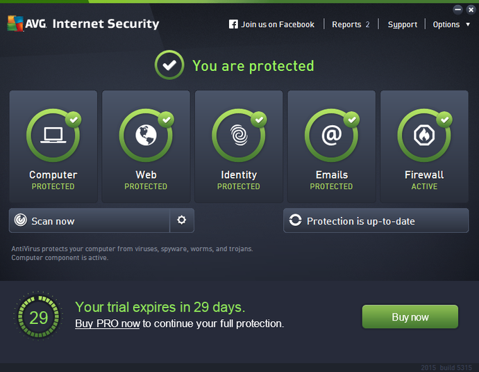 AVG Internet Security 2015 Offline Installer Download