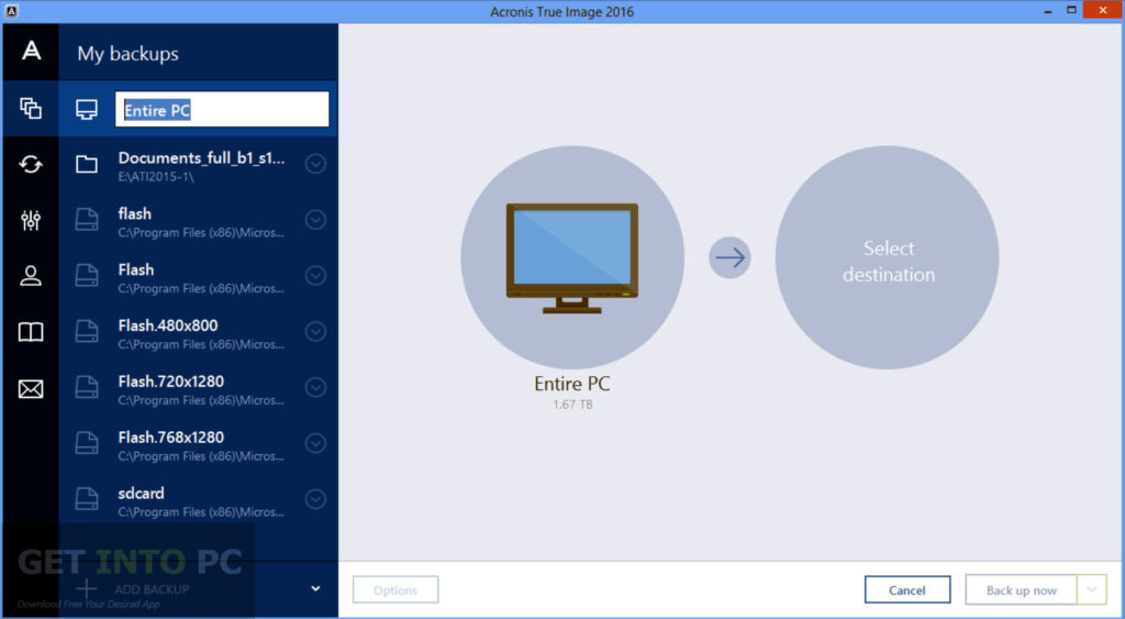 Acronis True Image Bootable ISO 2016 Offline Installer Download