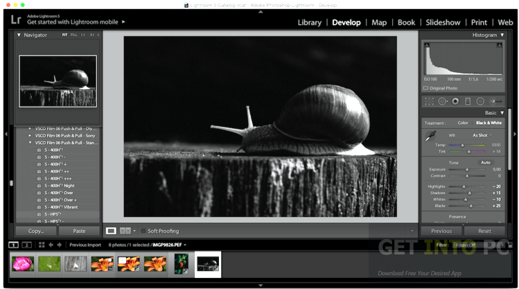 Adobe Lightroom 6.1.1 64 Bit MultiLang Free Download