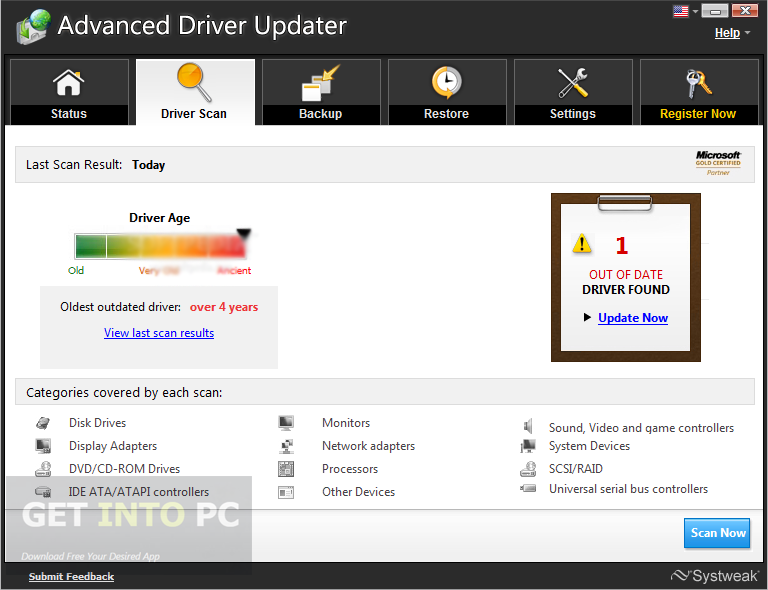 Advanced Driver Updater 2.7 Download For Free