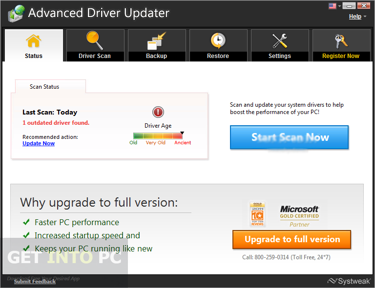 Advanced Driver Updater 2.7 Offline Installer Download