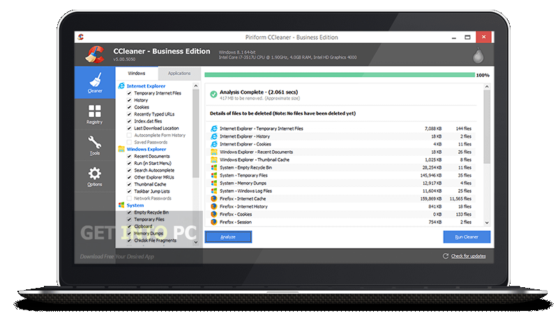 CCleaner 5.08.5308 Business Direct Link Download