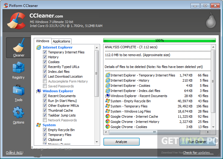 CCleaner 5.08.5308 Technician Direct Link Download