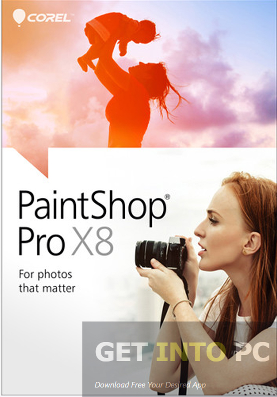 Corel PaintShop Pro X8 Free Download