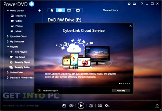 cyberlink powerdvd windows 10