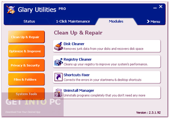 Glary Utilities Pro Offline Installer Download