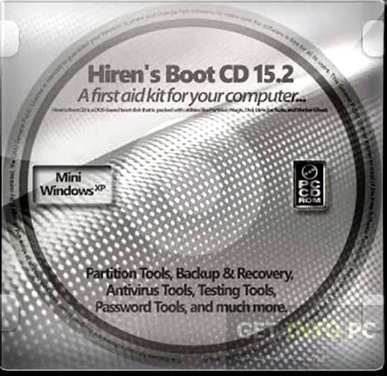 Hirens Boot DVD 15 2 Restored Edition Free Download