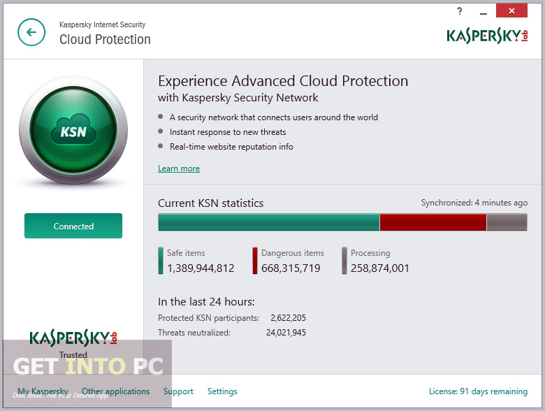 Free Internet Security >> Kaspersky Internet Security 2016 Free Download Borntohell