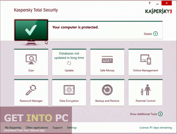 Kaspersky Internet Security 2016 Free Download - Get Into PC
