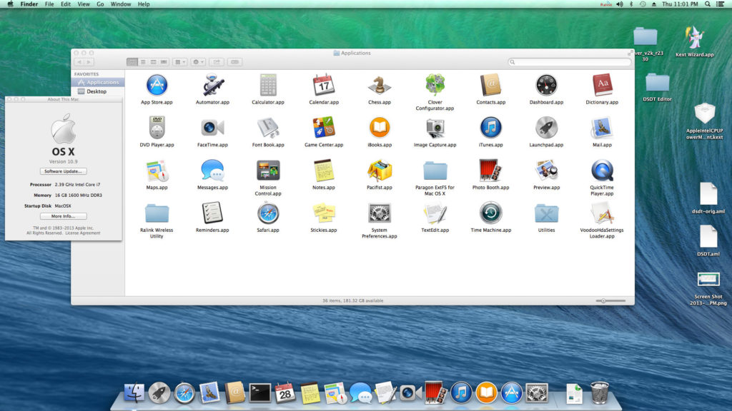 Niresh Mac OSX Mavericks 10.9.0 Latest Version Download