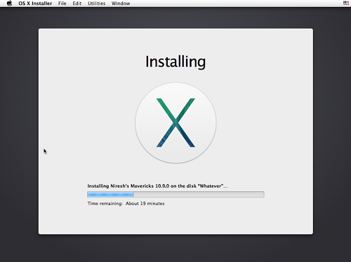 Niresh Mac OSX Mavericks 10.9.0 Offline Installer Download