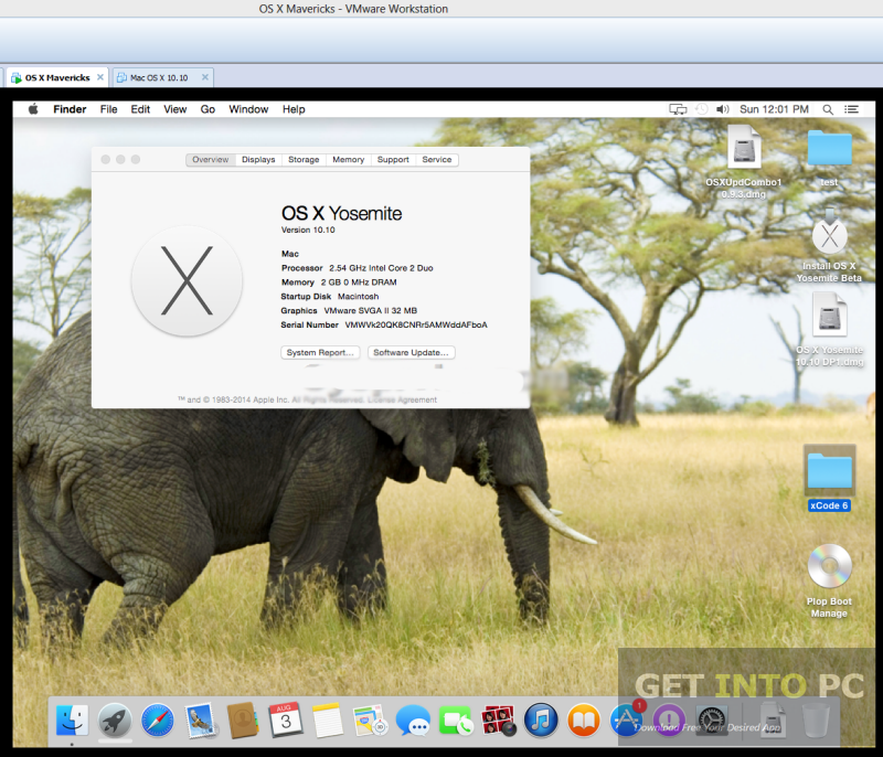 Niresh Mac OSX Yosemite 10.10.1 DVD ISO Offline Installer Download