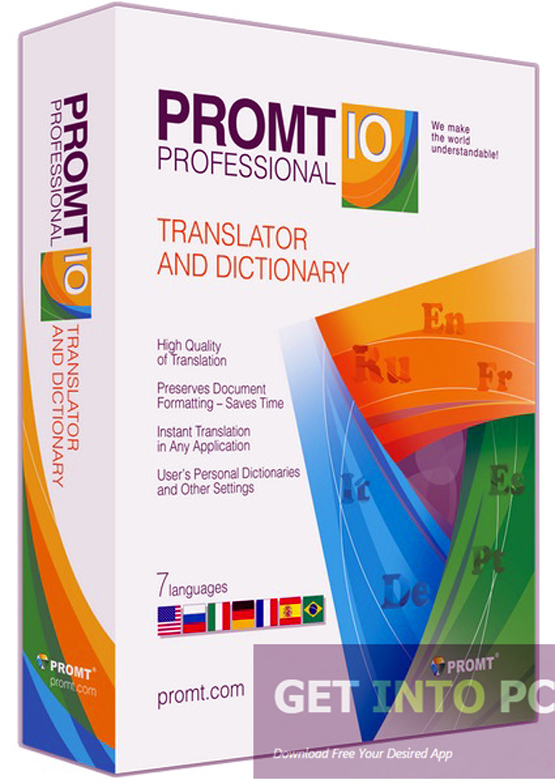 PROMT Expert 10 Incl Dictionaries Free Download