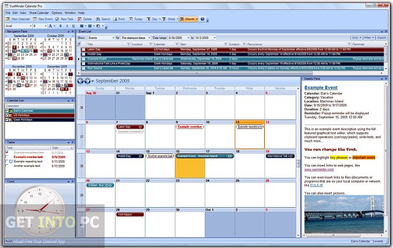 VueMinder Calendar Pro Direct Link Download