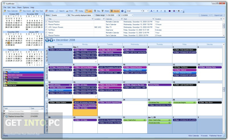 VueMinder Calendar Pro Latest Version Download