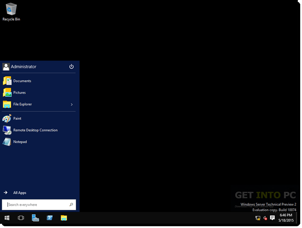 Windows Server 2016 64 Bit ISO Offline Installer Download