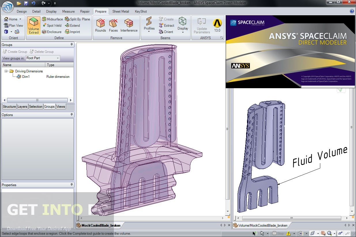 ANSYS SpaceClaim Direct Modeler 2014 ISO Direct Link Download