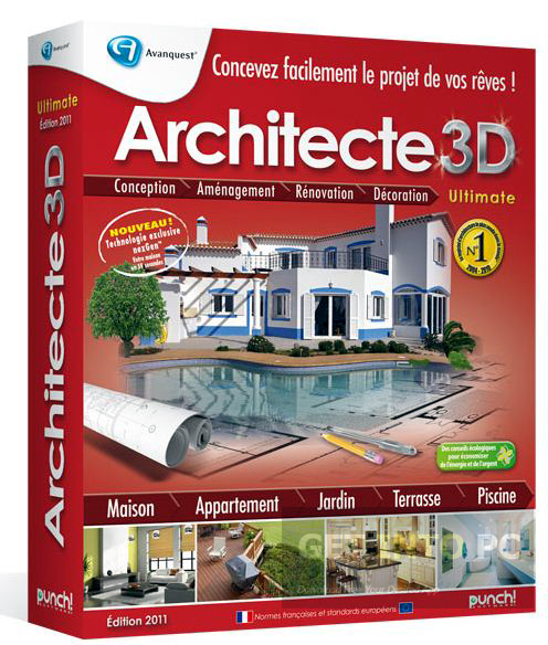 Architect 3d ultimate v17 free download for Architecte jardin 3d gratuit