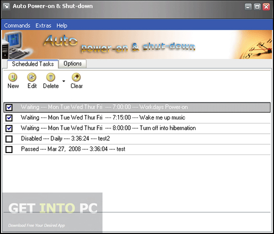 Auto Power On and Shut Down Latest Version Download
