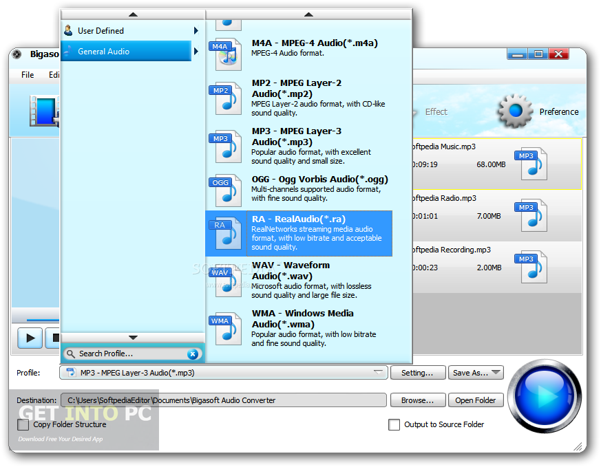 Bigasoft Audio Converter Direct Link Download