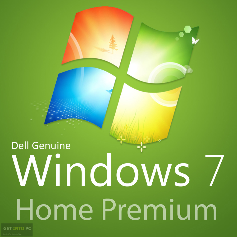 Dell Genuine Windows 7 Home Premium 64 Bit ISO Free Download