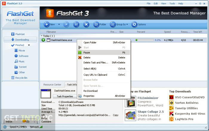 FlashGet Offline Installer Download